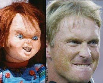 Jon Gruden Chucky